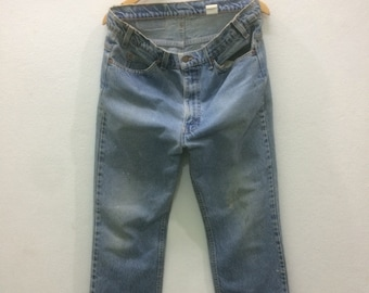 RARE!! Vintage Levi's Levi Strauss  Co Jeans 517 Made In Usa Size 36 On Inches