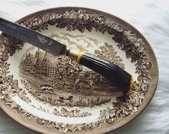 Stag Horn Carving Knife