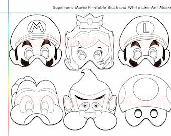 Mario Photo Booth Etsy