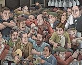 Irish Bar Print