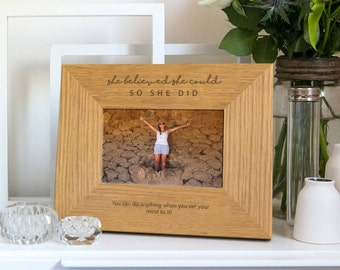 Personalised Quote Frame (Shop full range for more quote designs)
