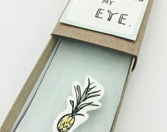 Friendship Card/ Funny Friend Card/ Unique Greeting Card/