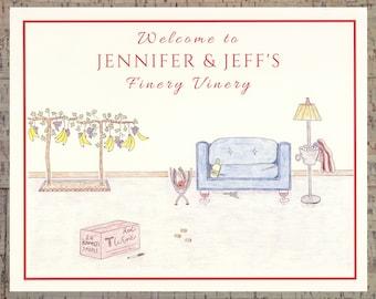 Wine Print, Wine Lover, Personalized 8x10 Print, Wine Décor, Wine Gifts, Wine Art, Wine Wall Art, Personalized Wine Gifts, Funny Wine Print