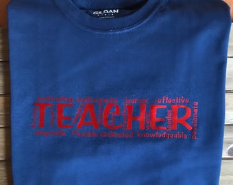 Teacher.... There are so many words that describe a TEACHER!