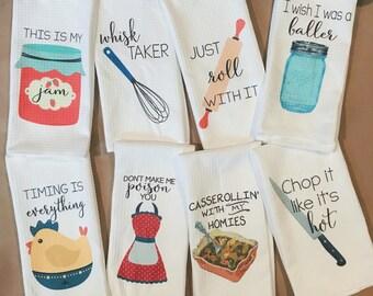 funny kitchen towels kitchen decor hostess gift dish