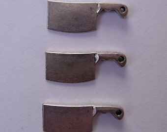 Set of 3 kitchen chopping charms