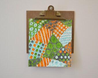 1970s Textile Design Original Artwork