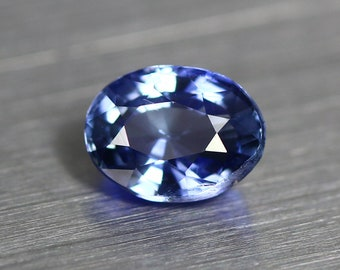 0.851ct Unique High End Earth Mine Certified Unheated Ceylon Royal Blue Sapphire
