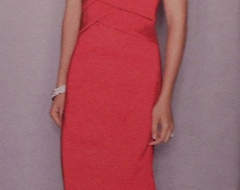 Formal  Gown Sewing Pattern UNCUT Simplicity 2253 Sizes 12-20 Jessica McClintock