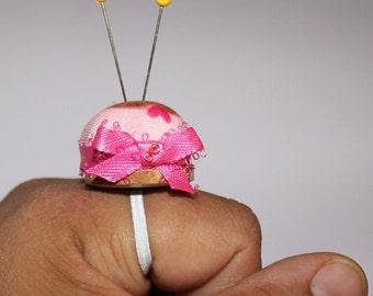 Pincushion Ring - The cupcake <3
