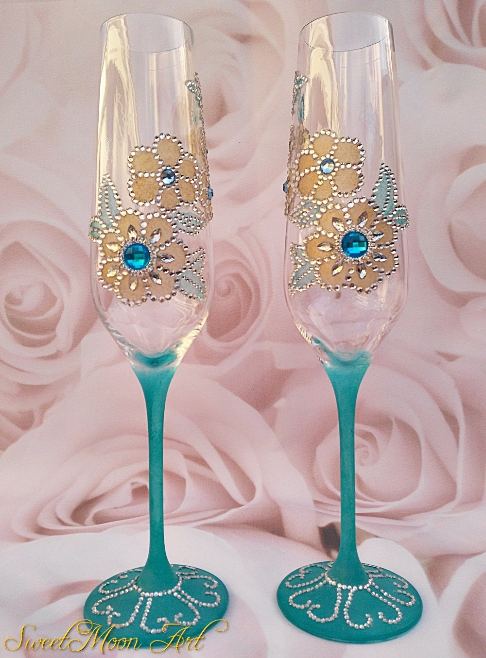Flautas Champagne Flautas Brindis Boda Copas Celebraciones # Champagne Muebles Uy