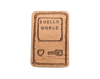 Hello World - Well Read Magnet