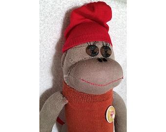 Sock Monkey - Ginger