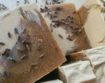 Lavender and Lychee black tea Soap