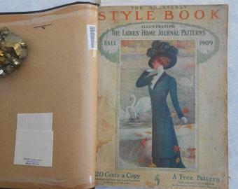 Vintage 1909 Ladies Home Journal Patterns