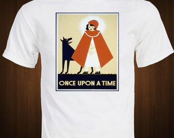 Little Red Riding Hood  'Once Upon a Time' Storybook Fairy Tale T-Shirt