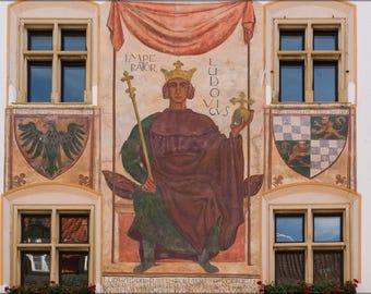 Poster, Many Sizes Available; Imperator Ludovicus, Murnau, Bavaria, Germany