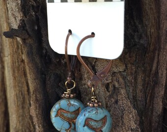 Blue Birds of Happiness Earrings