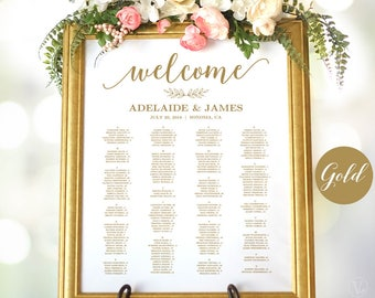 Wedding seating chart etsy popular items for wedding seating chart junglespirit Gallery