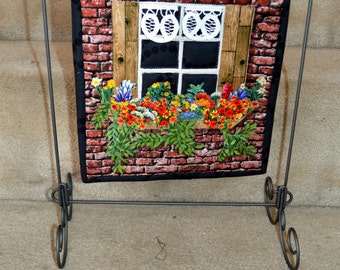 Quilted Window Wall Hanging