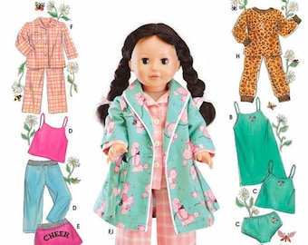 Simplicity 5276- Sewing pattern for 18 Inch Doll Clothes- Fits American Girl Dolls