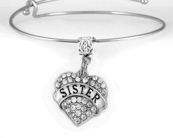 Sister Bracelet Adjustable bracelet Get two one for you too.