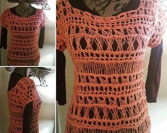 Crochet Top. Proceeds go to charity.