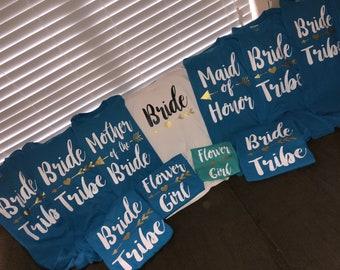 Bride Tribe T-shirt or Tank