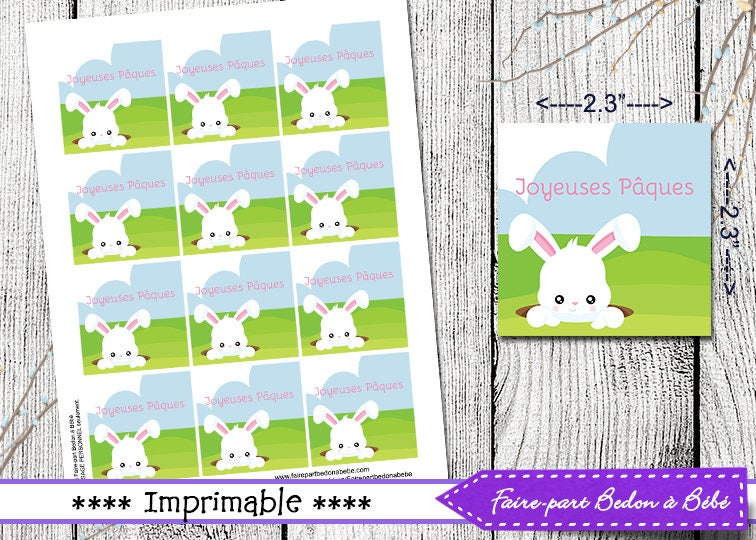 Easter tags easter gift tags easter printable printable tags this is a digital file negle Choice Image