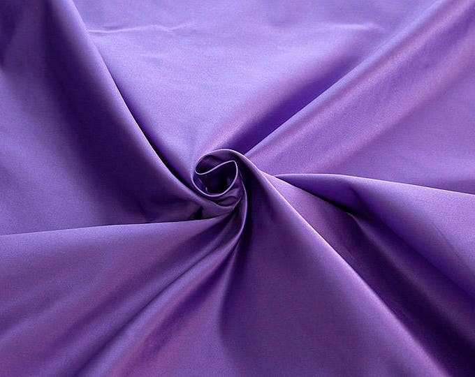 876215-Satin Natural silk 100%, width 135/140 cm, made in Italy, dry cleaning, weight 190 gr