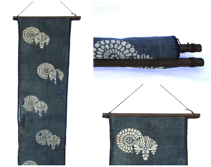 Textile Display Hanger. Wooden Fabric Scroll. Wall Hanging Supply. (Ref: 1898)