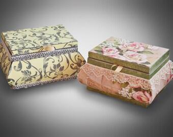 Jewellery Box or keepsake box, SVG DIGITAL Download