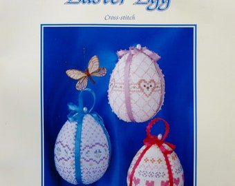 Cross Stitch Pattern | DESIGNER Series EASTER EGG | A Posh Publication | Counted Cross Stitch Pattern | Cross Stitch | Leaflet