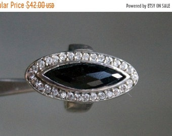 ON SALE Charming CZ Silver Ring