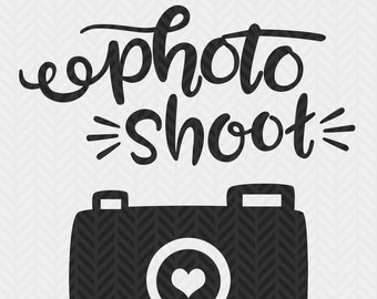 I rocked my Photo Shoot, with camera,  Photographer client gift, SVG file