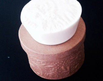 Orange Ginger Soap - 4 oz Circular Bar of Soap