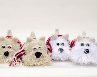 Scotch Terrier crochet amigurumi pattern/PDF PATTERN DOG/Scottish Terrier/AmiDogs