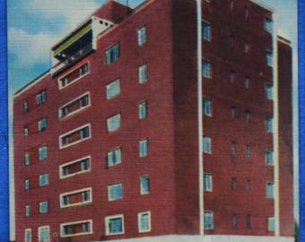 Wilmary Apartment Building Anderson SC South Carolina Linen Postcard Unused
