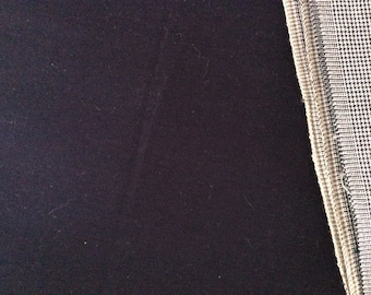 Navy Blue Broadcloth 100% Cotton (38)
