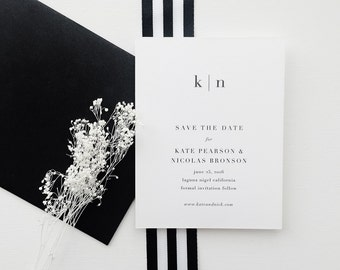 Kate Wedding Save the Date - Sample