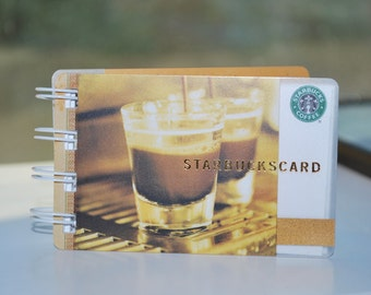 Espresso Shot Starbucks Notebook