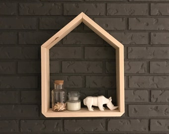 the *ORIGINAL* haus shelf | modern shelf | nursery decor | hand painted | dip dye