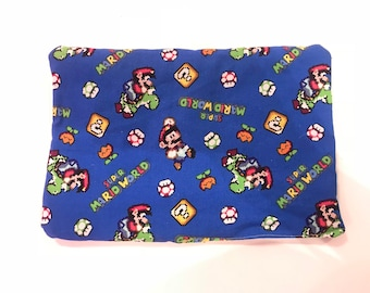 Super Mario World catnip mat