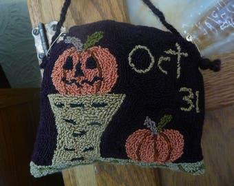 "Primitive Punch Needle Pattern"" Oct 31st"""