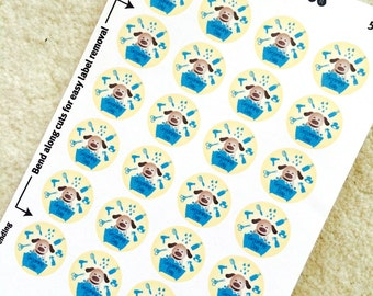 Set of 24 Dog Grooming Stickers for Various Planners, Calendars, Journals