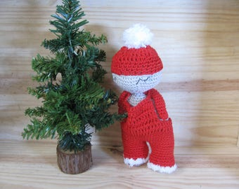 Adorable stuffed Christmas crochet 100% handmade