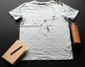 Origami T-shirt / / man /...