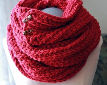 Crochet PATTERN Huntsmen Crochet Cowl Pattern