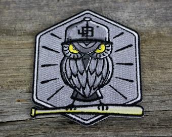 Patch - Baseball Owl