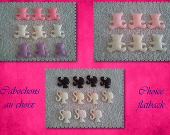 Set choice cabochon / flatback choice